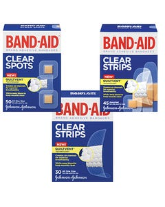 Band-Aid Clear Comfort-Flex