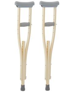 Sammons Preston Wooden Crutches