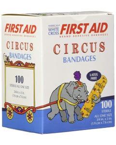 Children's Circus Bandage Strips