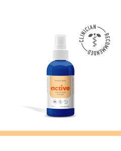 Active Antimicrobial Hand & Face  Hydrogel Spray