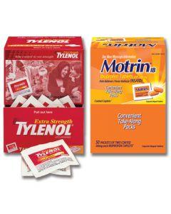 Tylenol & Motrin Non-Aspirin Value Pack