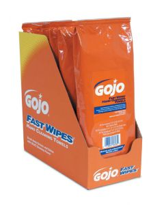 Gojo Fast Wipes Heavy-Duty Cleaning Towels