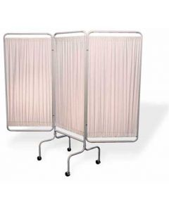 Privacy Screen 3 Panel With Caste
