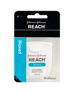 Reach Dental Floss - Waxed, 55 yd