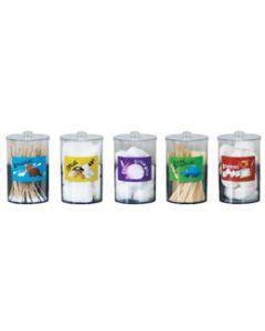 Acrylic Animal Pals Sundry Jar Set
