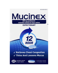 Mucinex Cold and Flu Relief Maximum Strength