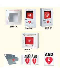 AED Cabinets/Brackets/Signs