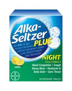 Alka-Seltzer Plus Night Cold Formula
