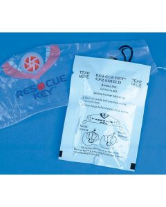 RescueKey CPR Shield Foil Pack