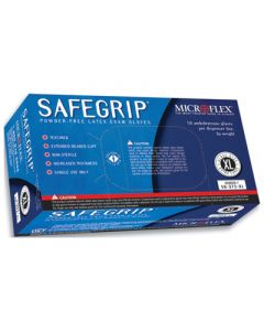 Safegrip Powder-Free Latex Exam Gloves