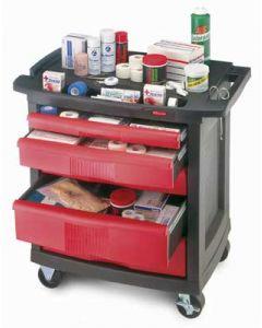Rubbermaid 5-Drawer Utility Cart