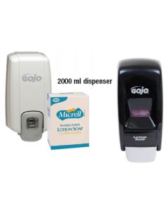 GoJo Bag-in-Box Soap and Dispensing Systems