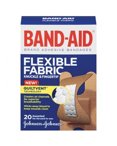 Band-Aid Flexible Fabric Knuckle & Fingertip Bandages