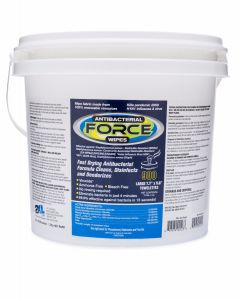 GymWipes Antibacterial Force Wipes - Bucket