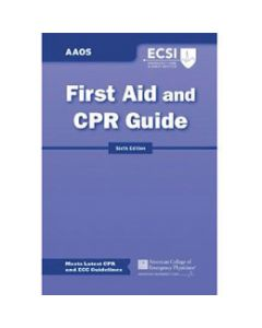 American Academy of Orthopedic Surgeons First Aid and CPR Guide