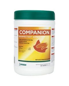 Companion Disinfectant Wipes