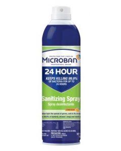 Microban Sanitizing Spray Citrus Scent
