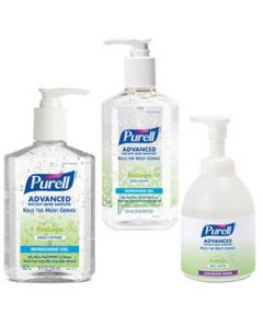 Purell Advanced Formula Green Certified Hand Sanitizer