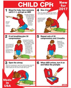 CPR For Children Chart