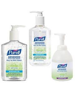 Purell Advanced Formula Green Certified Hand Sanitizer