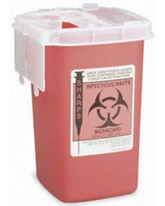 Sharps Disposal Phlebotomy Container