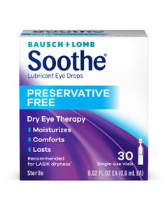 Bausch & Lomb Soothe Lubricant Eye Drops