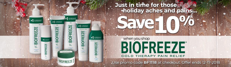 10% off Biofreeze Classic